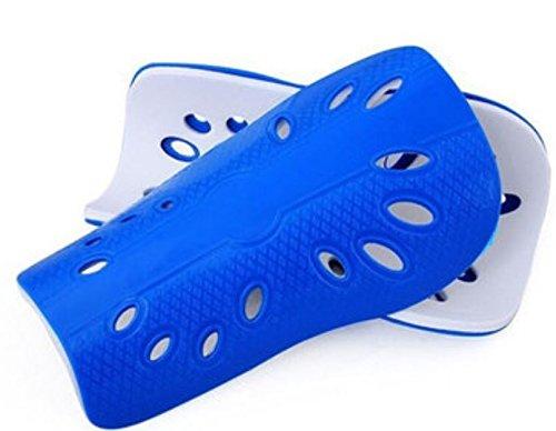 T-mac Basketball Shoes (1 Pair Men Football Soccer Shin Pad Basketball Leg Guard Sports Protective Gear by ShopIdea (Blue))