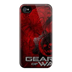 High-quality Durable Protection Case For Iphone 4/4s(gears Of War 2 Game)