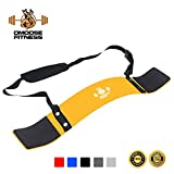 DMoose Fitness Arm Curl Blaster – Thick Gauge Aluminum, Robust Rivets, Contoured & Adjustable – Improve Definition & Muscle Strength In Your Arms – Premium Grade Bodybuilding Bicep Bomber Isolator Review