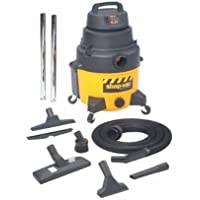 Shop-Vac - Industrial Super Quiet Wet/Dry Vacuums, 8 gal, 6 1/2 hp