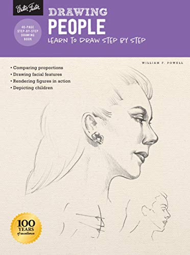 Drawing: People with William F. Powell: Learn to draw step by step (How to Draw & Paint)