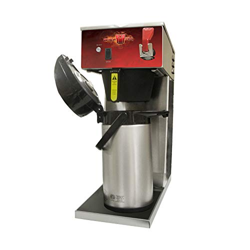 (Brew-Tek Automatic Airpot Brewer With Faucet | 9.3 cup | 2.2 liters - Commercial Airpot Coffee)