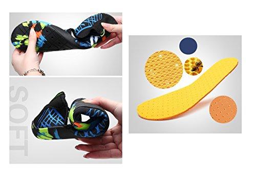 Women Men Shoes Lightweight No Quick Surf Swiming Eabern Walker Upgrade Rose Slip Shoes Barefoot Water Dry 5wACyEq