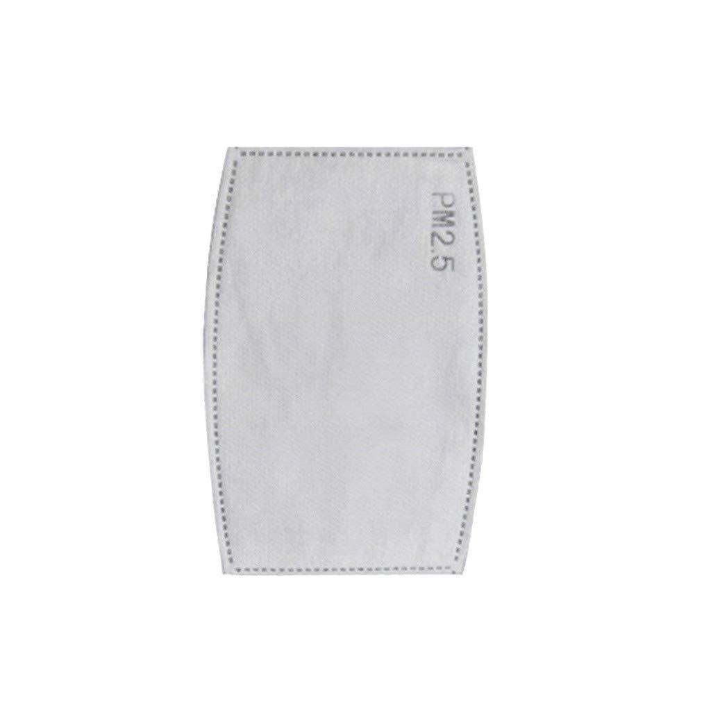 𝐌𝐚𝐬𝐜𝐚𝐫𝐢𝐥𝐥𝐚𝐬 100xFiltros Unisex Protector Facial Tela Diseño de moda Protección Respiratoria Antipolvo Visera Facial Protector de Cara Reutilizables y Lavable Ciclismo