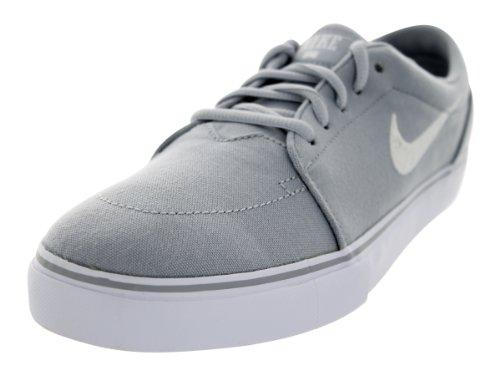 Nike Men's Satire Canvas Wolf Grey/Whie Skate Shoe 8.5 Men US