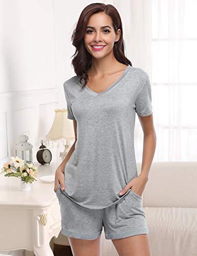 de de dormir Aibrou mujer Conjuntos para Conjunto de de pijama algod ropa SBZvCxwq