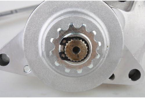 GOOFIT Atv Electric Starter Motor Chinese Bottom Engine Mount 50cc 70cc 90cc 110cc I St01