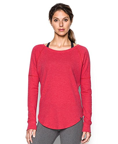 Under Armour Women's Waffle Raglan, Knock Out/Knock Out, Medium (Long Knockout Sleeve Womens)