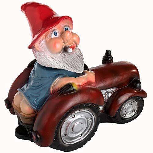- Rakso German Bobblehead Farmer Gnome, 12
