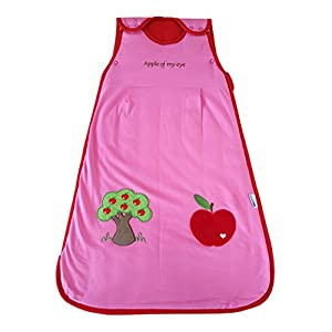 Slumbersac Sleeping Bag 2.5 Tog-Red Apple - 0-6 months/27 inch