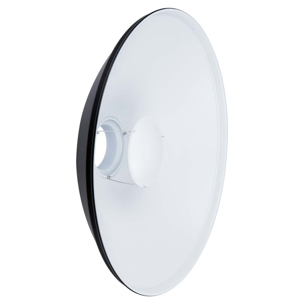 Interfit MBD22 Studio Essentials Small - 22'' Beauty Dish with Bowens S-Type Mount, White