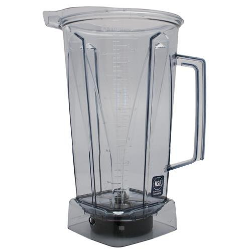 Vitamix Clear Container with Blade and no lid, 64 Ounce Blender Lid Assembly