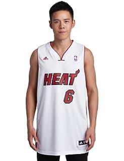 Amazon.com : NBA Miami Heat LeBron James Swingman Jersey, Maroon