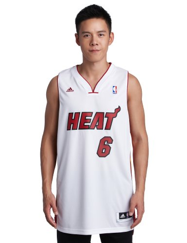 NBA Miami Heat LeBron James Swingman Jersey, White, - Miami Mens Heat Jerseys