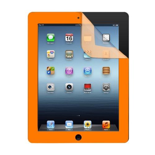 iHome IH-IP2305J Color Guard Screen Protector for iPad 2/3/4, Orange