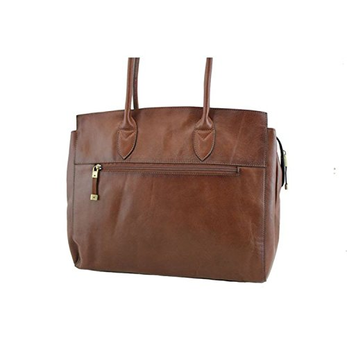 K cuir de shopping en 82529 Vachette Katana Sac Marron collet 6qIt00
