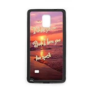 Samsung Galaxy Note 4 Cell Phone Case Black love me 110 LSO7717797