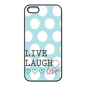 iphone5 5s cell phone cases Black Live Laugh Love fashion phone cases HRE4530391