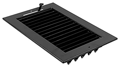 """12""""w X 6""""h ADJUSTABLE AIR SUPPLY DIFFUSER - HVAC Vent Cover Sidewall or Ceiling - Grille Register - High Airflow - [Outer Dimensions: 13.75""""w X 7.75""""h]"""