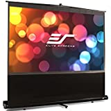 Elite Screens ezCinema Series, 84-inch 16:9, Portable Floor Pull Up Projection Screen, Model: F84NWH