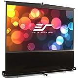 Elite Screens ezCinema Series, 60-inch 4:3, Portable Floor Pull Up Projection Screen, Model: F60NWV