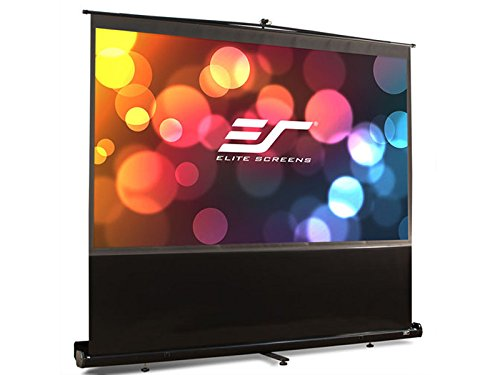 Lite Portable Front Projection Screen (Elite Screens ezCinema Series, 120-inch 4:3, Portable Floor Pull Up Projection Screen, Model:)