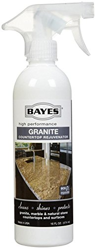 - Bayes Premium Eco-Friendly Granite Countertop Cleaner and Rejuvenator Spray, 16-Ounce (Pack of 2)