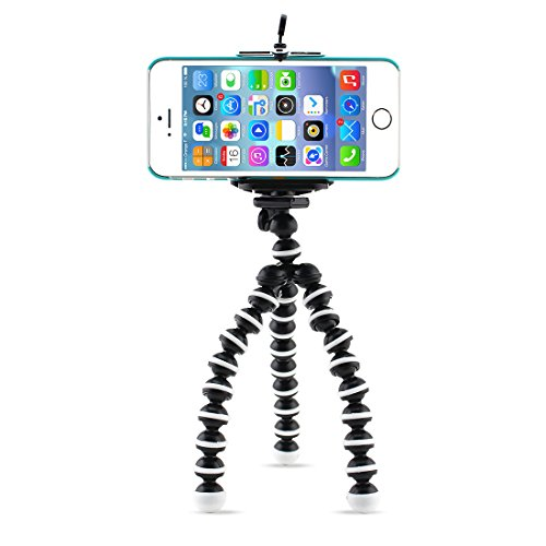 UPC 701722631205, Sumsonic Portable and Adjustable Tripod Stand with Mount / Holder for Smart Phone and Camera