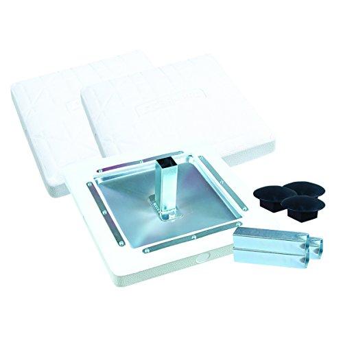 Champro Molded Pro Style Base (White, 15 x 3-Inch)
