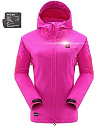 Men s Soft Shell Heated Jacket with Battery Pack DB-12 2.0-12 Months  Warranty c65c42ee99