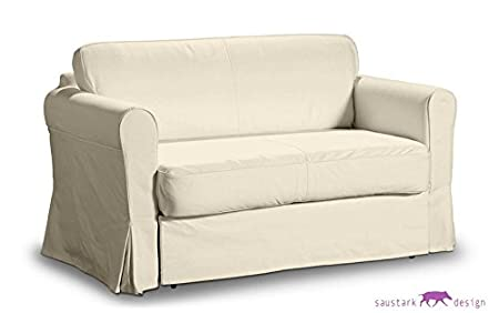 Divano Letto 2 Posti Ikea Hagalund.Saustark Design Boston Crema Fodera Per Ikea Hagalund Letto Divano