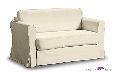 Divano Letto 2 Posti Ikea Hagalund.Saustark Design Boston Crema Fodera Per Ikea Hagalund Letto Divano A