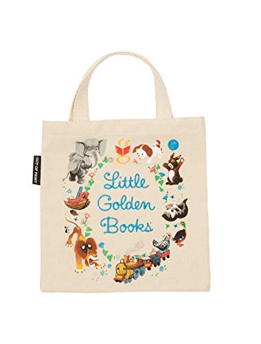 Kid Book Bag - Out of Print Little Golden Books Kids Canvas Tote Bag