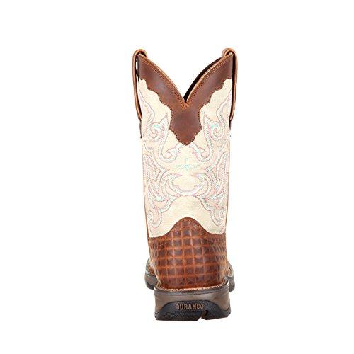 Ribelle Signora Durango Da Donna 10 Stivale Composito Sella Western Boot-drd0194
