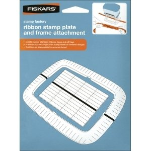 Fiskars - Ribbon Stamp Plate & Frame Attachment #1094 ()