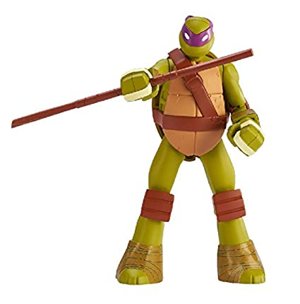 SpruKits Teenage Mutant Ninja Turtles Donatello Action Figure Model Kit, Level 1