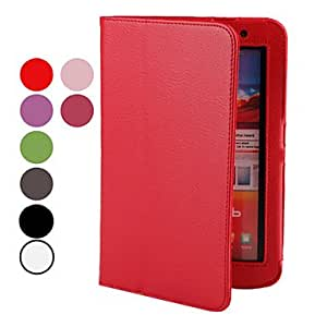 PU Leather Case with Stand for Samsung Galaxy Tab2 7.0 P3100 (Assorted Colors) --- COLOR:White