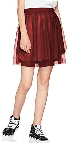 Emma & Giovanni - Jupe Tulle Evase (Taille S  XXL) - Femme Bordeaux