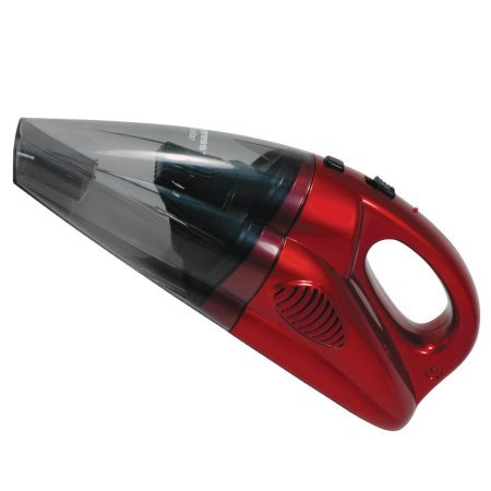 Impress GoVac Redchargeable Deluxe Handheld Vacuum with Base- Red (Reviews Hoover Ash)