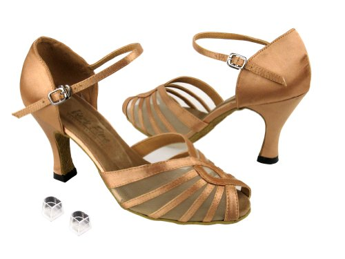 Very Fine Ladies Women Ballroom Dance Shoes EK2719 With 2.5