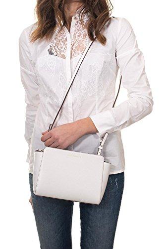 Carta Armani Grain Femme Handbag Bianco Emporio Noir Logo Zucchero 0qdwScEg