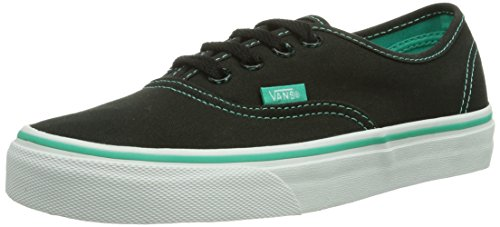Vans U AUTHENTIC Unisex-Erwachsene Sneakers Schwarz ((Tortoise Pop) / DSJ)