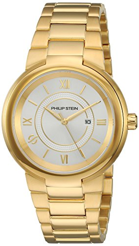 Philip Stein Women's 'Active' Quartz Stainless Steel Casual Watch, Color:Gold-Toned (Model: 31-ACGW-GSS)