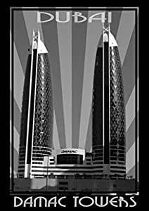 Photo of Damac Tower Black And White, Print Only (A1)