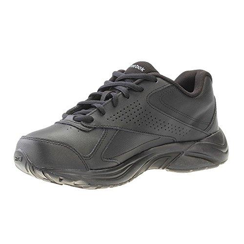 Reebok Walk Ultra V Dmx Max, Zapatillas de Senderismo para Mujer Negro (Black / Flat Grey)