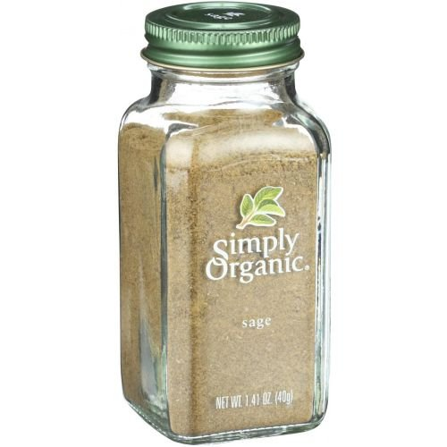 Simply Organic Ground Sage, 1.41 Ounce - 6 per case