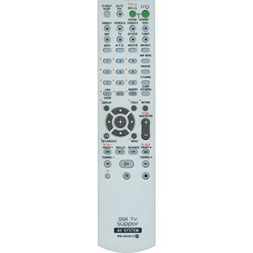 DSK TV Supply RM-AAU001/ RM-AAU13 Remote Control for Sony AV Audio/ Video Receivers