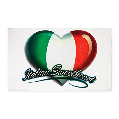 3' x 5' Area Rug Italian Sweetheart Italy Flag