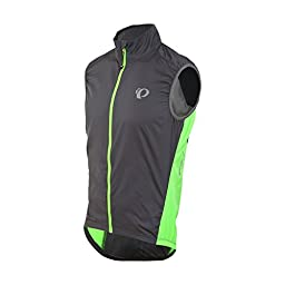 Pearl Izumi ELITE Barrier Vest - Men\'s Smoked Pearl/Screaming Green, XXL