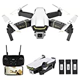 GoolRC GW89 RC Drone with Camera 1080P HD WiFi FPV Drone, Gesture Photo Video Altitude Hold Foldable RC Quadcopter with 3 Battery